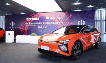 HiPhi devient le partenaire exclusif de l'édition 2021 de la course Spartan en Chine