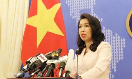 «Le Vietnam demande à la Chine de cesser de violer sa souveraineté en Mer Orientale»