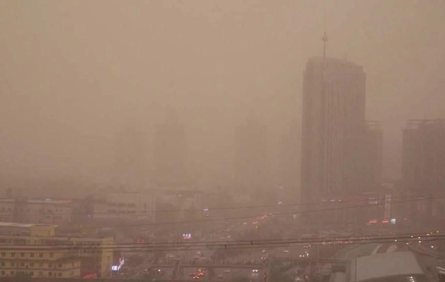 Les tempêtes de sable deviendront-elles la norme en Chine?