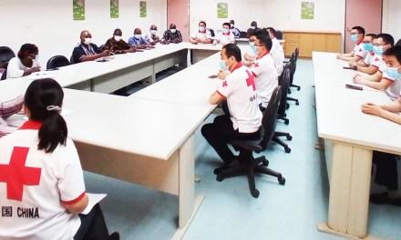 CHU de Tengandogo: la 4ème Mission médicale Chinoise prend ses marques