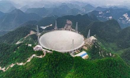 La Chine donne accès à son radiotélescope FAST