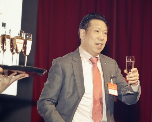 CNY 2018 Galadinner Chairman Chi Tseng Pin