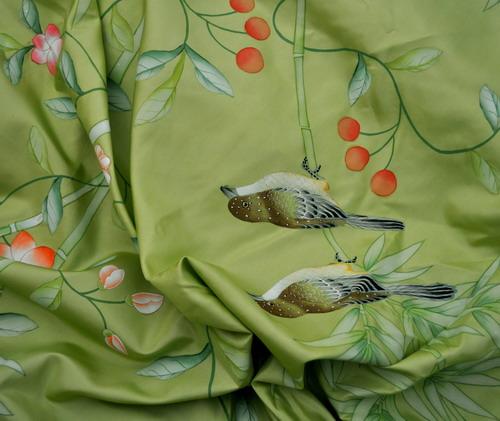 Antique Flower Wallpaper