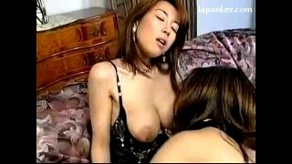 2 Girls In Transparent Lingerie Kissing Rubbing On The Couch