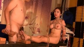 Chinese Model 李梓熙 Li ZiXi – Bondage Shoot BTS Part 4. Watch more: http://123link.vip/hNC88n