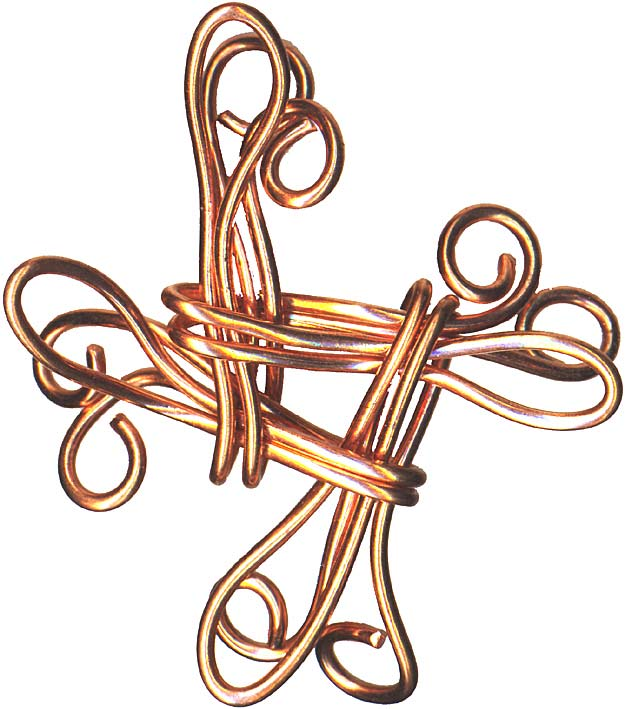 A chinese good-luck knot
