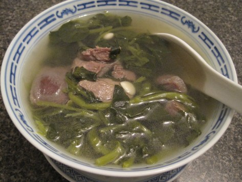 Watercress Soup for health