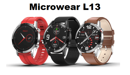 Microwear L13 Smartwatch 1.3 IPS Full Touch Screen With Bluetooth Call