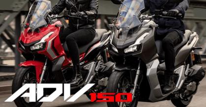 Honda ADV150 Header