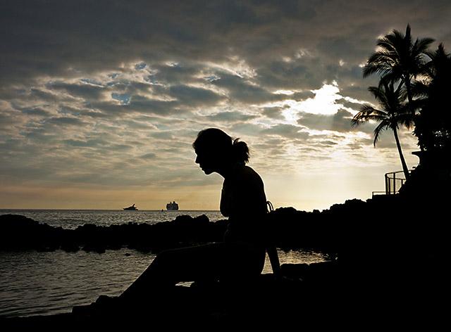 Big Island Silhouette