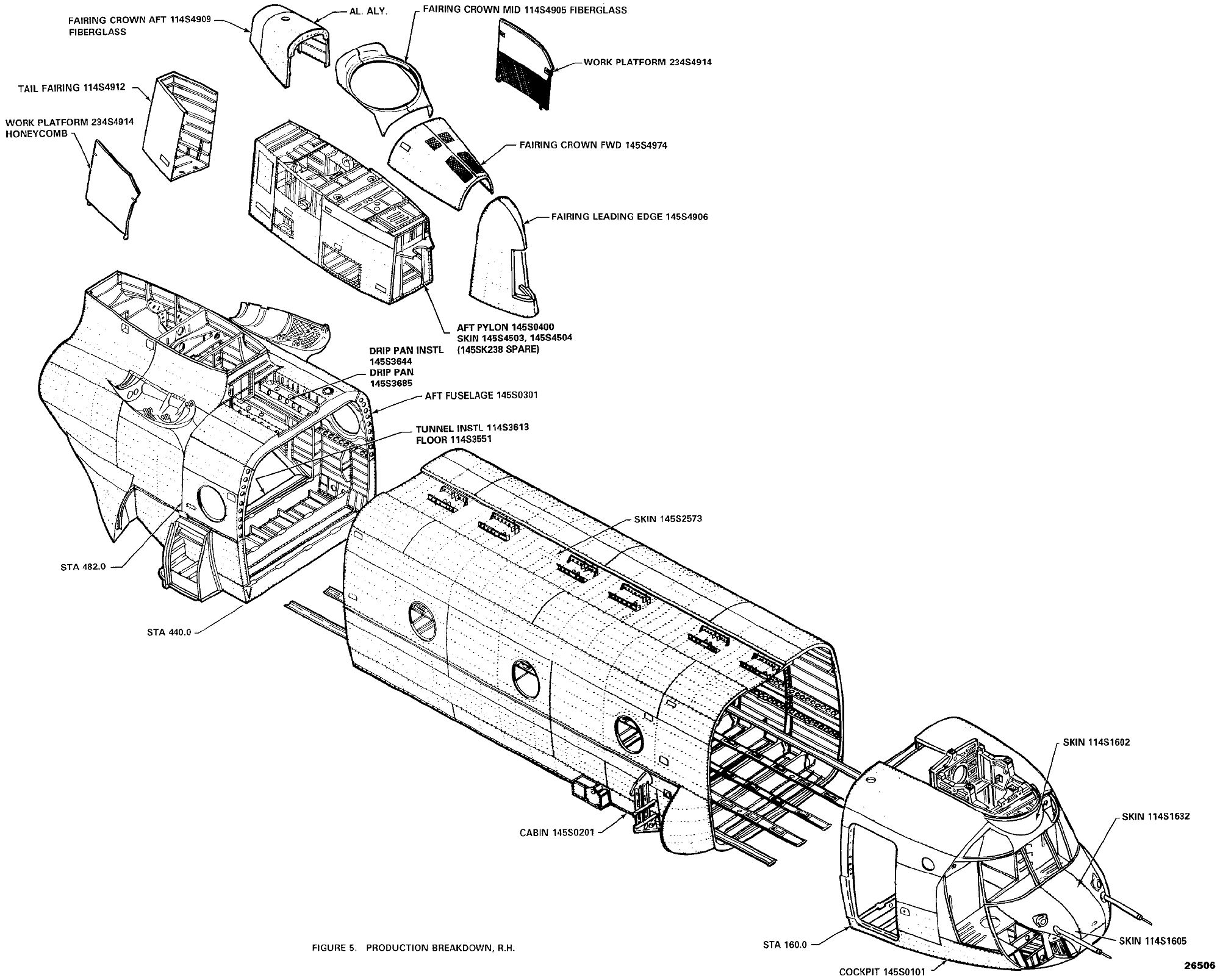 The Ch 47d Chinook Structural Drawings