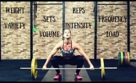 training volume and intensity