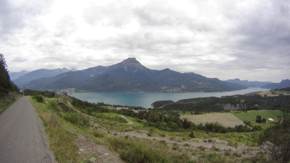 Lago di Serre Poncon e Savines le Lac