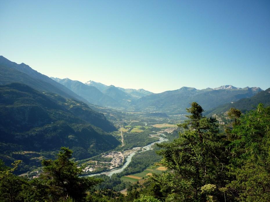 Panorama con l'altopiano di Mont-Dauphin