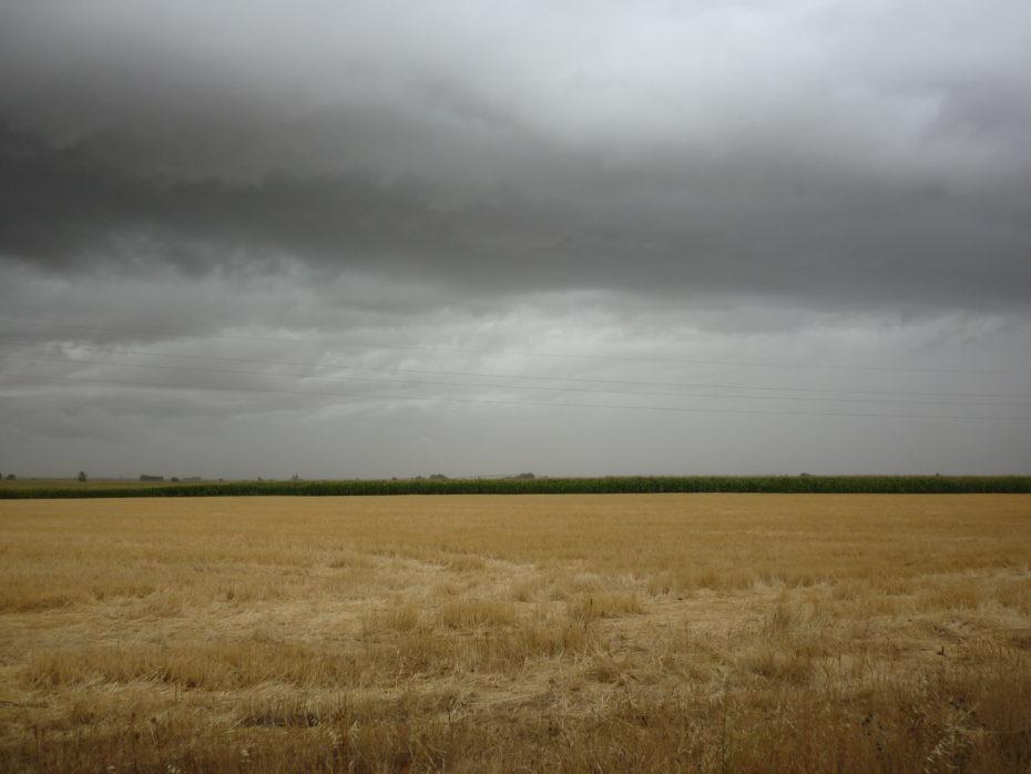 Le nuvole presagio di pioggia