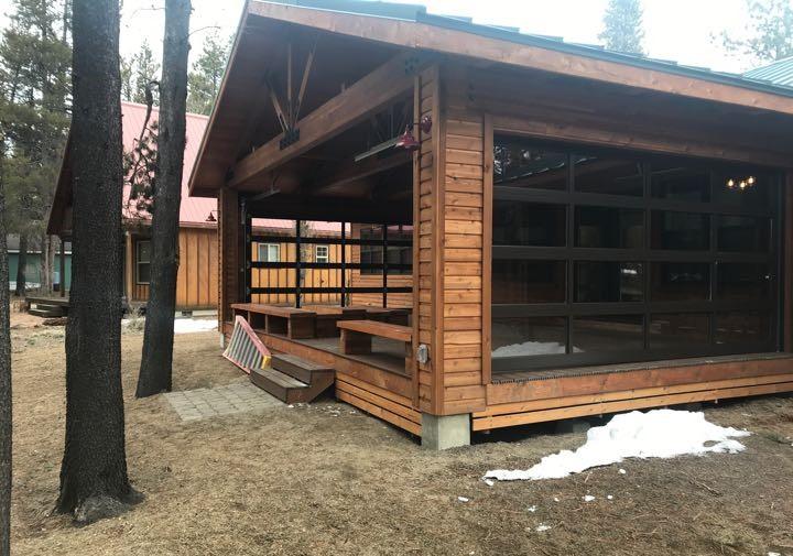 incorporate garage doors into your space