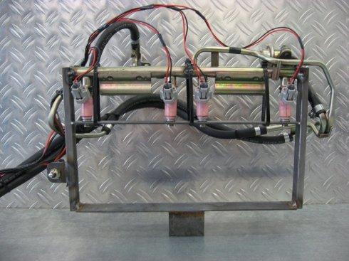 Einspritzdüsen Testbank / Injectors Flow Bench