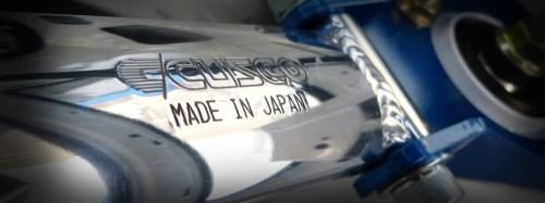 Cusco Domstreben mit DTC Gutachten für Subarus / Cusco Strutbars for Subarus CH-legal