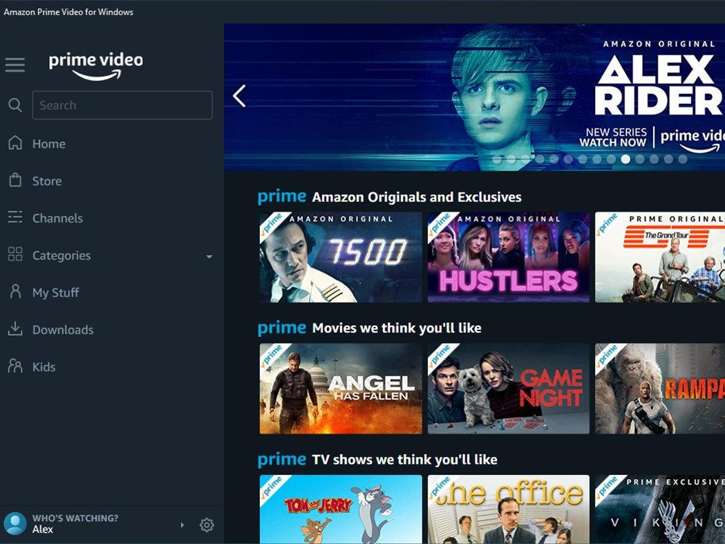 Amazon Prime Video Windows 10 App Download Chip