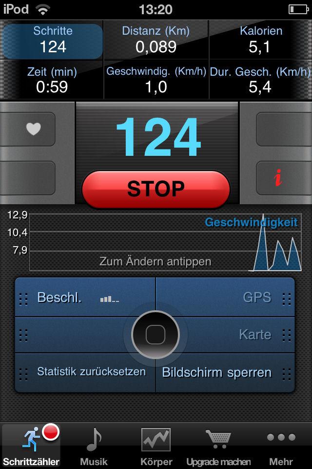 Schrittzahler Gratis Gps Iphone App Download Chip