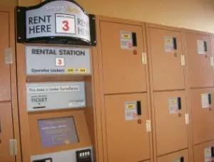 Disney World Planning 101 - Renting a Locker 1