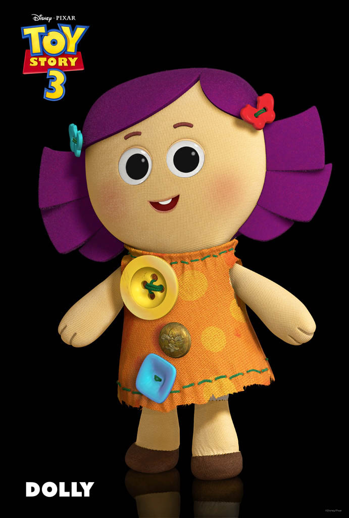 Toy Story 3 Welcomes Dolly The Rag Doll