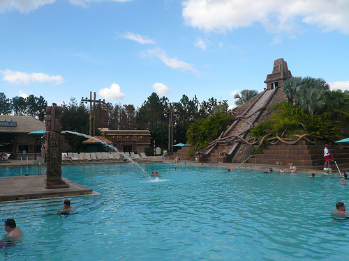 Ask a Disney Question: Differences between Value and Moderate Pools. 1