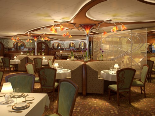 """New Deluxe Restaurant named """"Remy"""" Coming to the Disney Dream 1"""