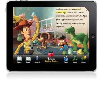 New Toy Story Disney Digital Book IPad App