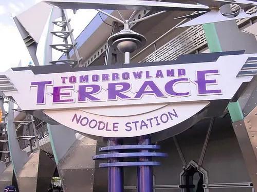 Tomorrowland Terrace Noodle Station