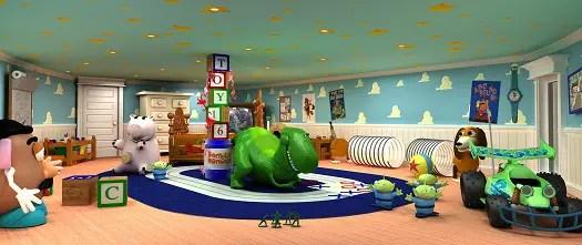 Inside the Disney Dream - Oceaneer Club, Andy's Room, & Pixie Hollow 2