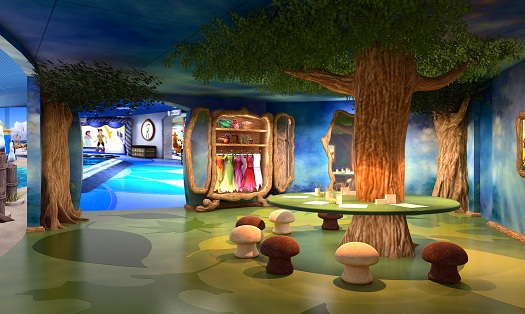 Inside the Disney Dream - Oceaneer Club, Andy's Room, & Pixie Hollow 3