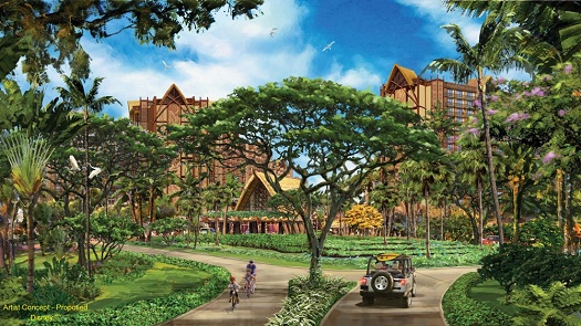 New Disney Resort Aulani in Hawai'i Completes Vertical Construction 1