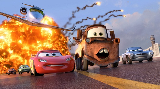 First Look: Pixar's Cars 2 New Characters 1