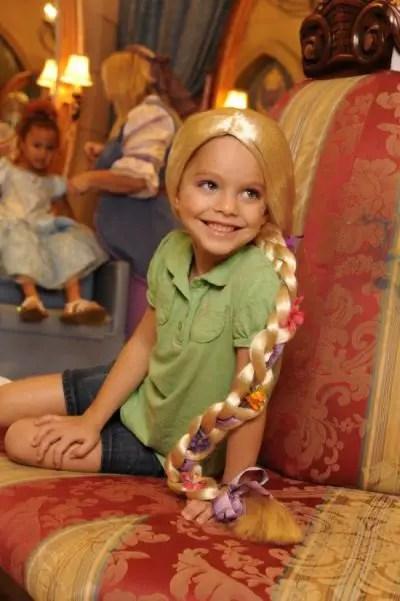 Live your princess dream with a new Rapunzel makeover at the Bibbidi Bobbidi Boutique 1