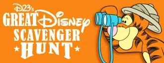D23's Great Scavenger Hunt Details at Walt Disney World 1