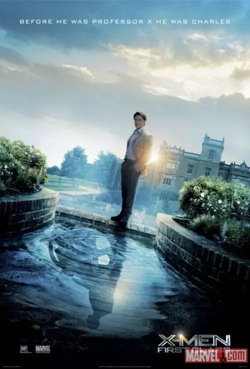 X-Men: First Class International Poster & Trailer 1