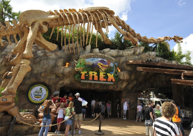 Dine with Santa Claus and More at T-Rex Café in Disney Springs 1