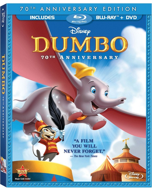 Disney's Dumbo 70th Anniversary Edition Coming to Bluray/DVD/Download 1
