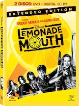 The Disney Channel Original Hit Movie Comes Home! LEMONADE MOUTH on DVD 5/24! 1