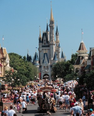 Disney World In The Peak Season