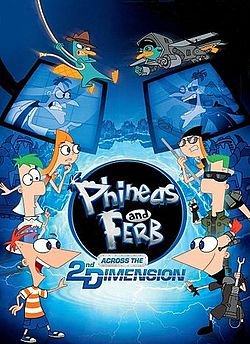Coming Soon Phineas and Ferb - Across the Second Dimension Movie 1