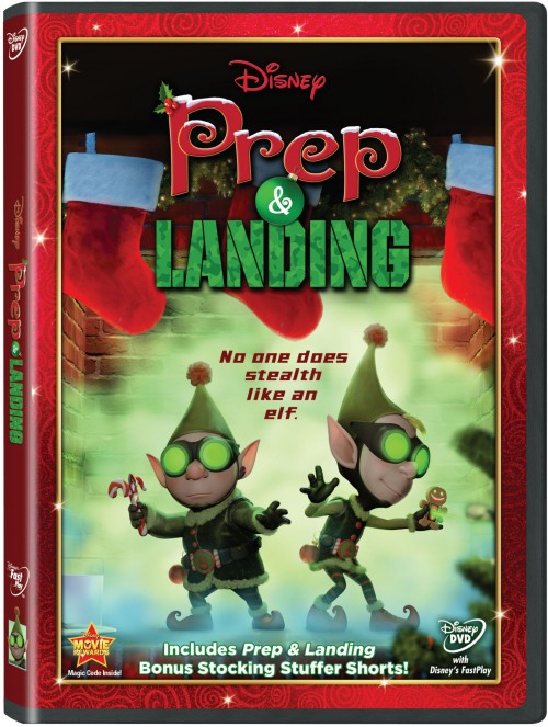 Disney's Prep & Landing Arrives on DVD – November 22 1