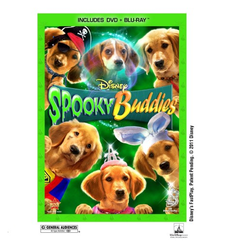 Disney's Spooky Buddies Coming to Bluray September 20th 1