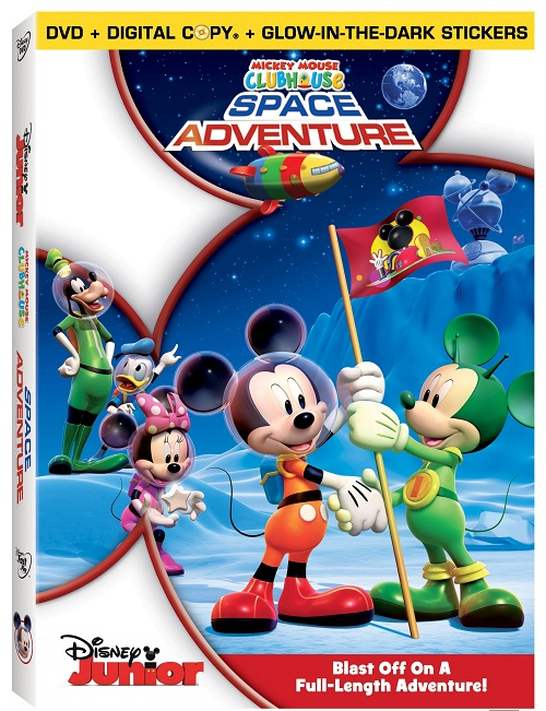 Mickey Mouse Clubhouse: Space Adventure Debuts As A 2-Disc ...