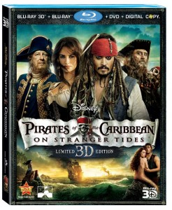Pirates of the Caribbean: On Stranger Tides on 3D Blu-ray & DVD Announcement and New Bonus Clip 1
