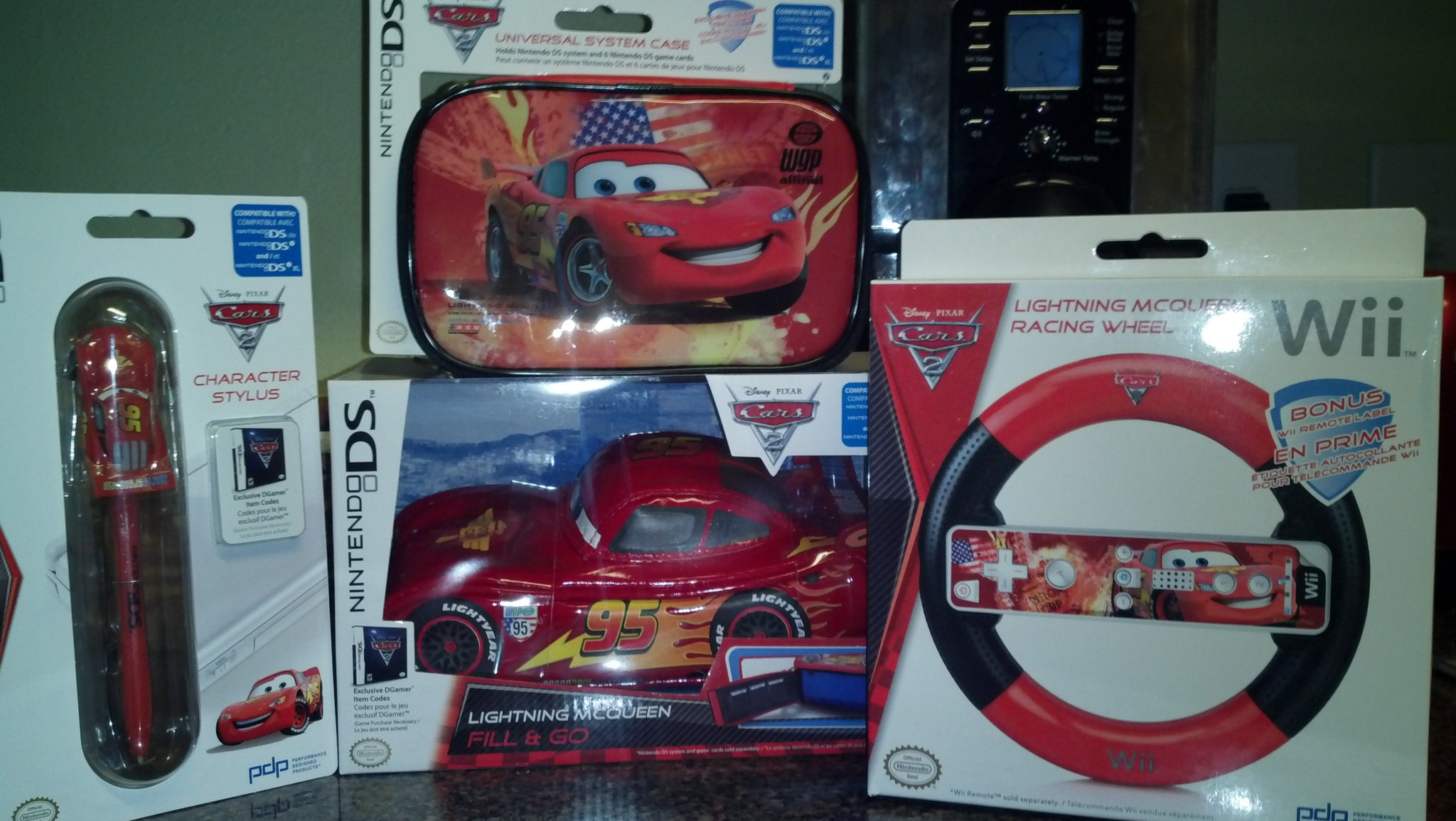 Disney's Cars 2 Gaming Accessories Giveaway