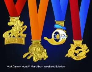 Marathon Weekend Medals