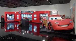 Mattel Exhibit Featuring Disney·Pixar Cars Die-cast Vehicles Speeds Into Petersen Automotive Museum in L.A. 1