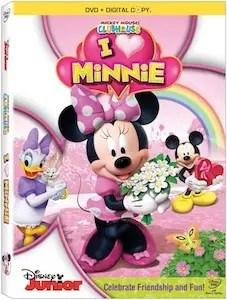 I heart Minnie dvd